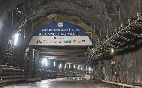 Brenner Base Tunnel: Construction progress on schedule