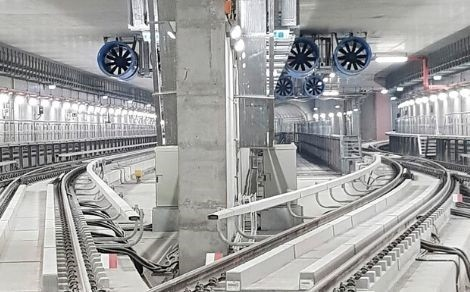 Tunnel ventilation system for the Doha Metro