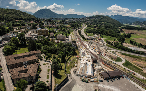 The new record project in the Alps / © AlpTransit Gotthard Ltd